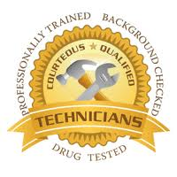 Highly trained and qualified technicians.